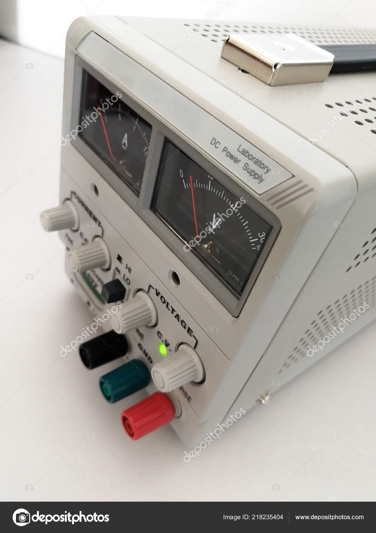 Precise Variable Voltage Current Power Supply Used Prototyping