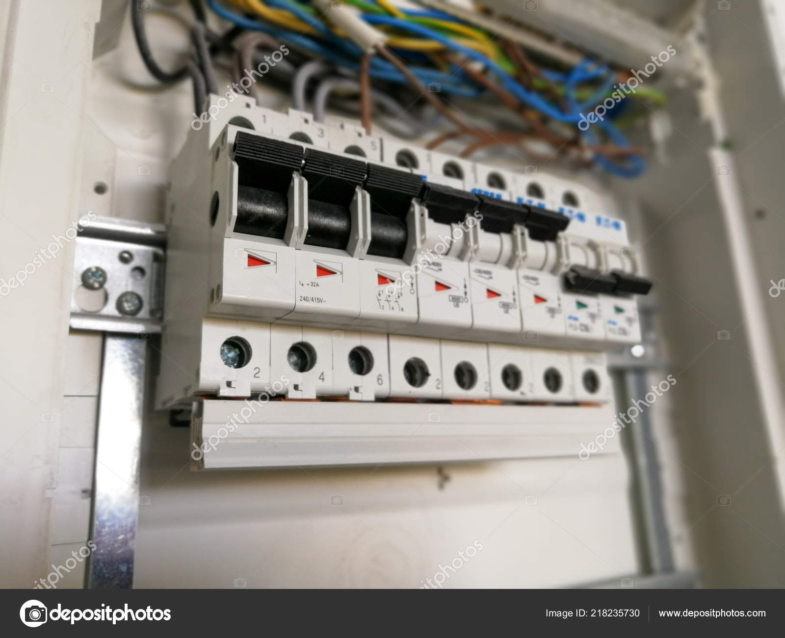 Superb Electric Safety Switches Wiring Electrical Panel Stock Photo Wiring Cloud Brecesaoduqqnet