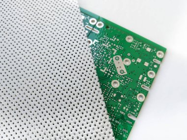 Special purpose electronic PCB shielding material for electromagnetic compatibility solutions
