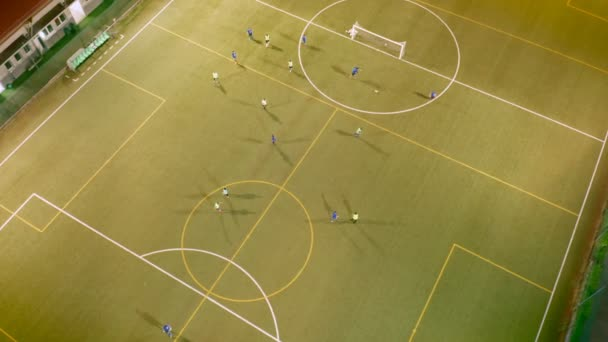 Fotbalový stadion tréninkový večer Top