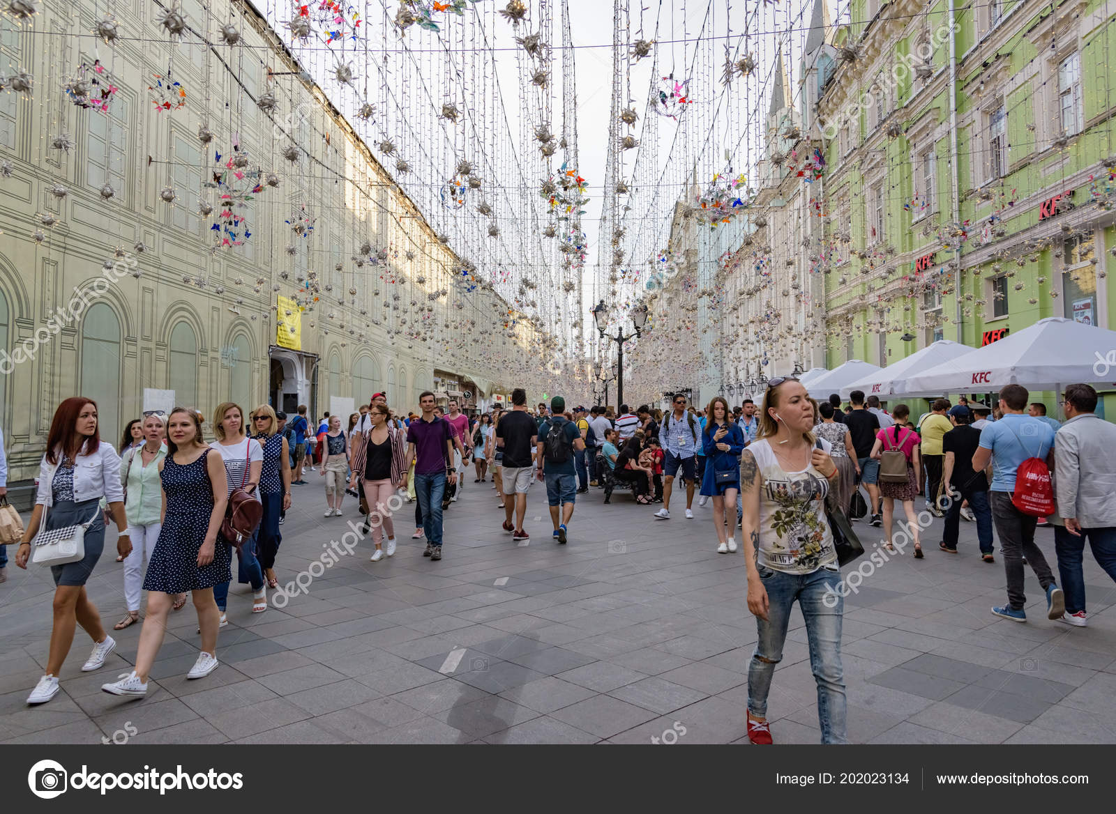 Russia Moscow June 2018 2018 Fifa World Cup Nikolskaya