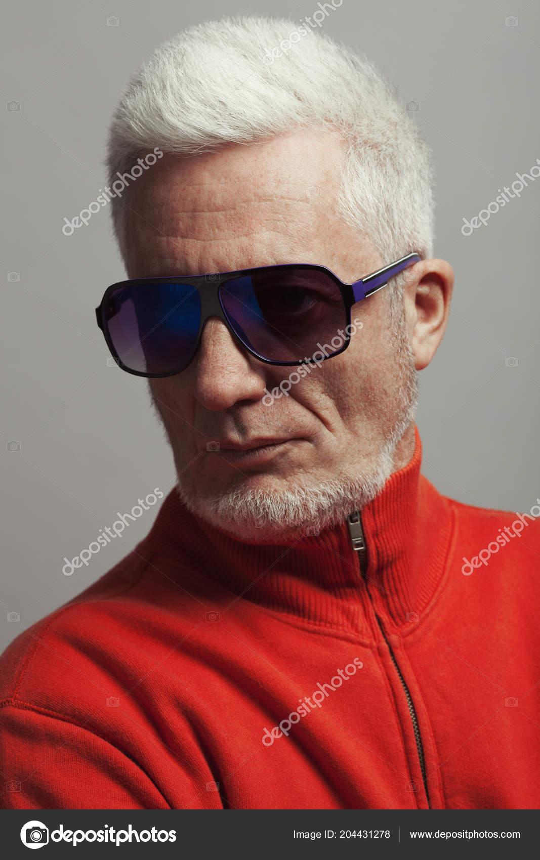 Fabuleux Portrait Mode Lunettes Homme Tous Âges Concept Les 43AjLR5