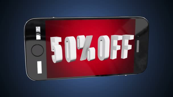 Smartphone s 50 procent z 3d písmen