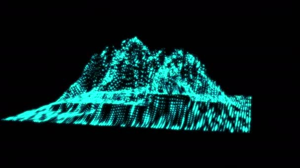 Big data visualization motion