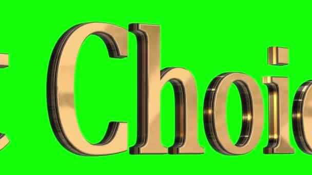 3d gold text letters best choice sale
