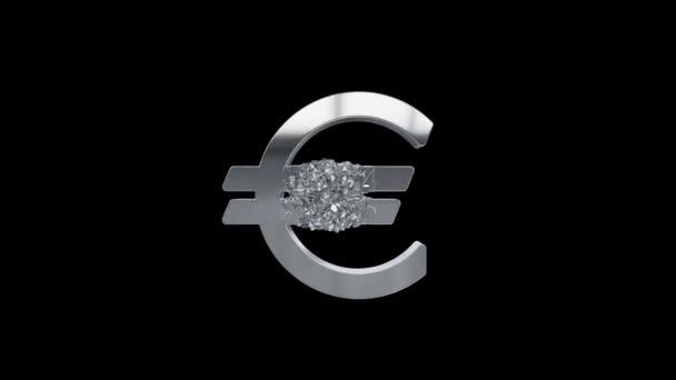 Gebrochenes Euro-Zeichen