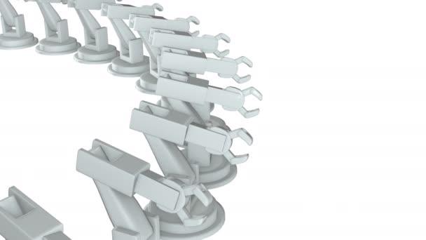 Robotické rameno 3d