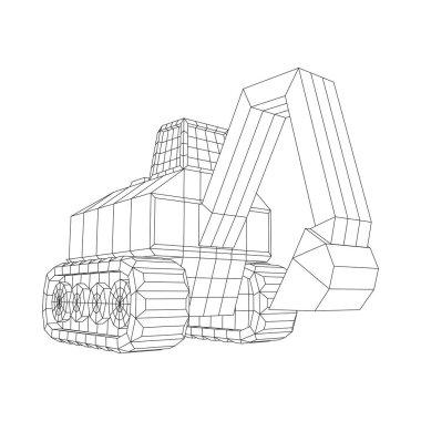 Excavator heavy equipment construction company