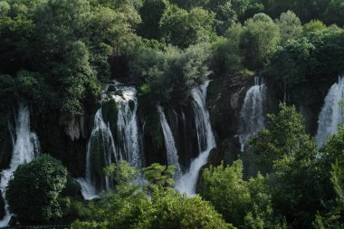 Kravice Waterfalls landscape in the mountains, Bosnia and Herzegovin