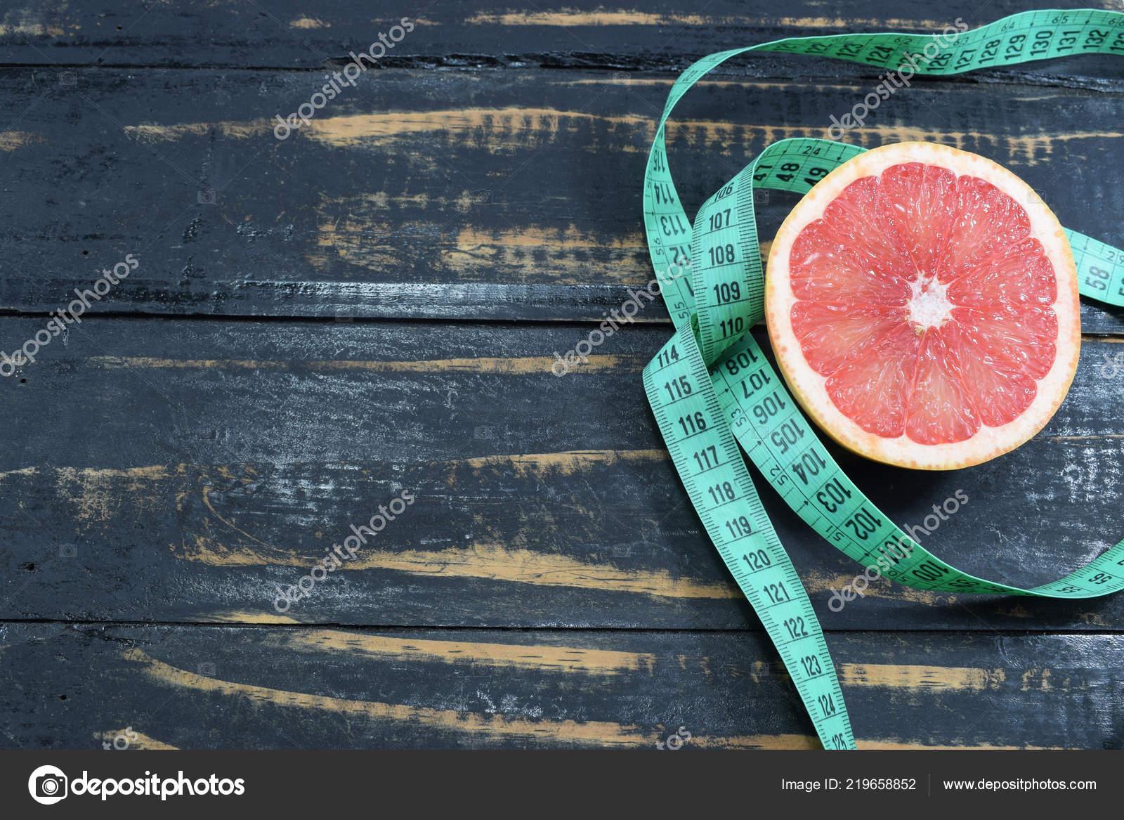 Грейпфрут похудения ленты таблице символ потеря веса диеты.