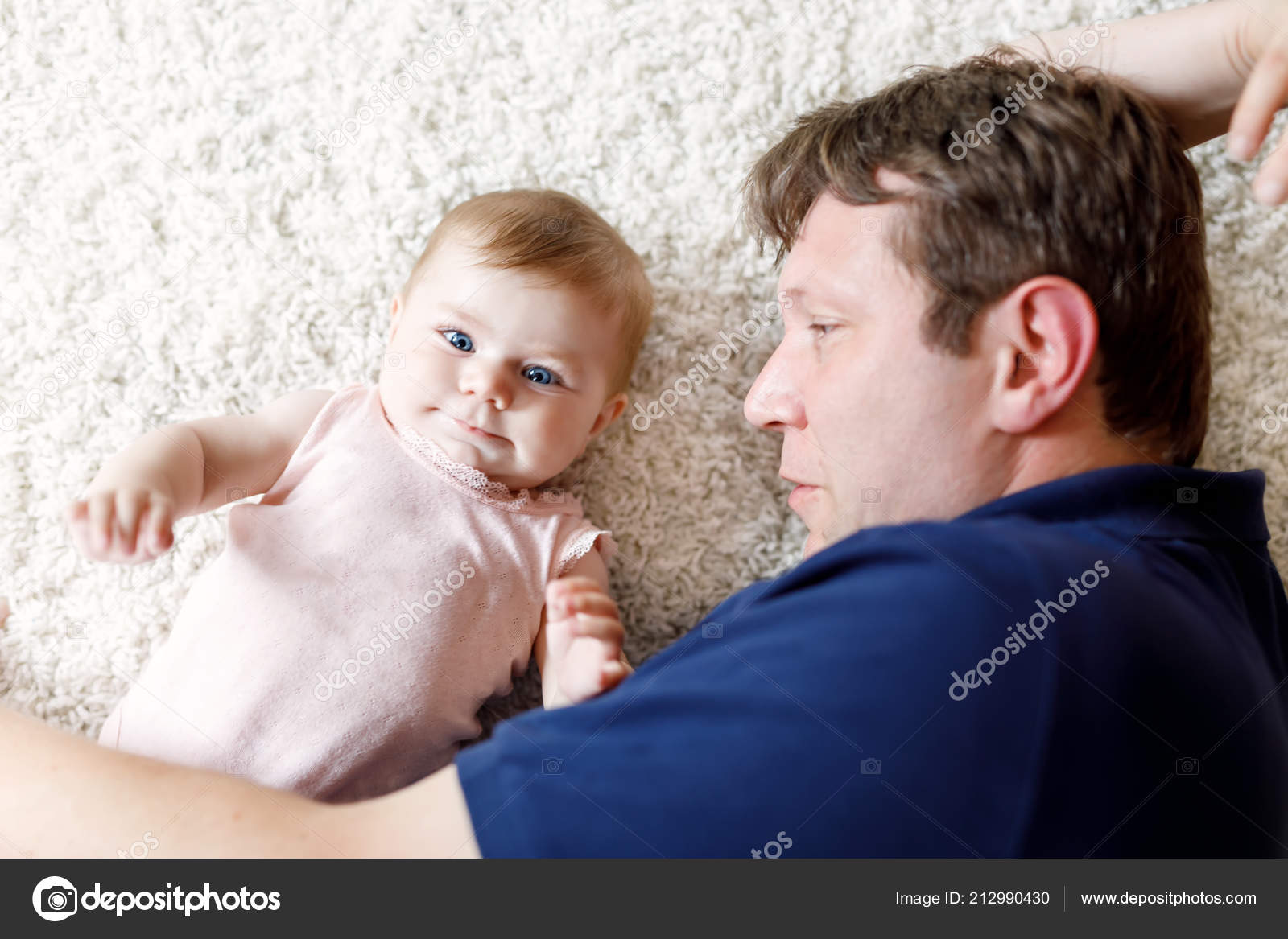 Very young little girl loves daddy not right