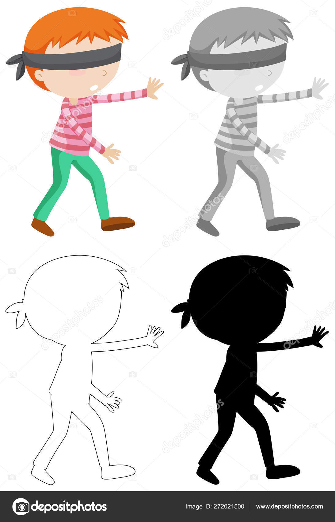 Child Blindfold Images, Stock Photos & Vectors   Shutterstock