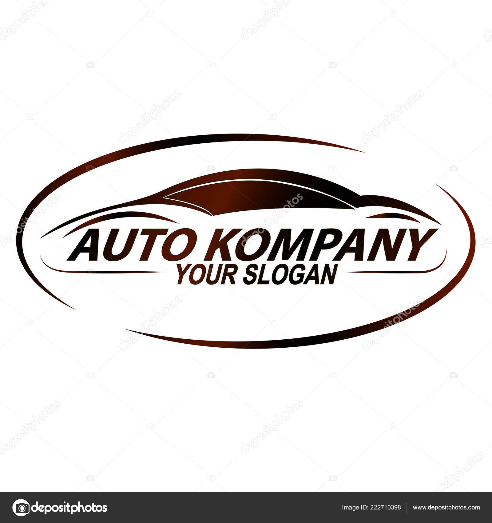 Abstract Car Design Concept Automotive Topics Logo Template