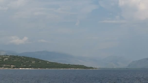 passing by the coastline of Albania with its Vivari Channel flowing into Adriatic sea