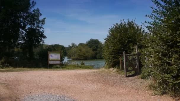 PONT AUDEMER, FRANCE - AUGUST 20, 2018: Natural leisure park at Pont Audemer. Normandy France.