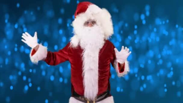 Otec Vánoc tancem na disco párty