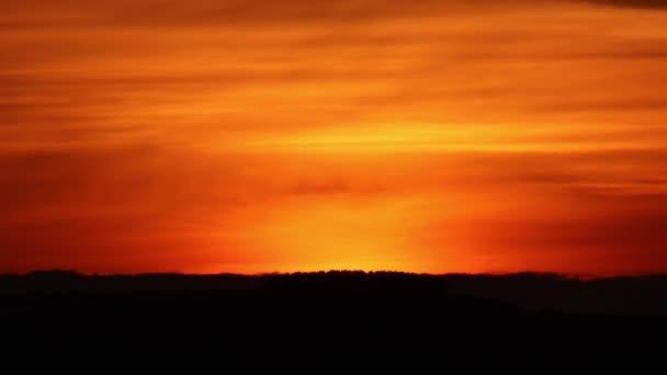 Beautiful sunset over sea in Galicia, Spain