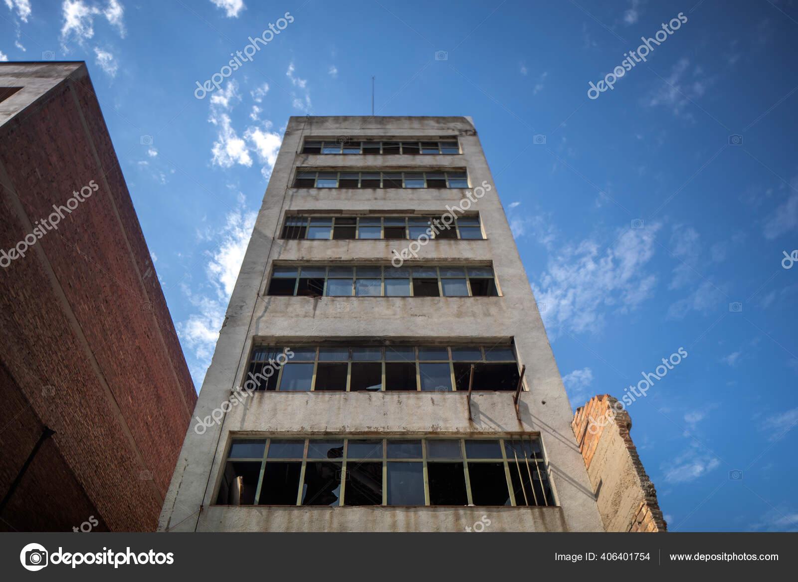Abandoned Building El Poblenou Barcelona Spain Stock Photo C Dubassy 406401754