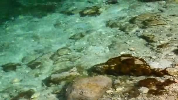 közelíti a kövek és úszó víz