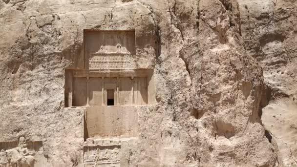 staré zříceniny u Persepolis v Íránu