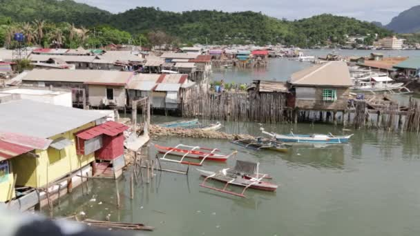 philippines house in the slum for poor people, concept of poverty and degradation