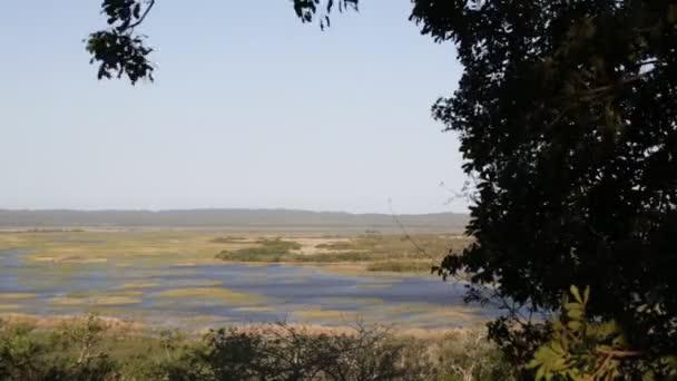 gyönyörű tó természetvédelmi terület a Dél-afrikai Köztársaság