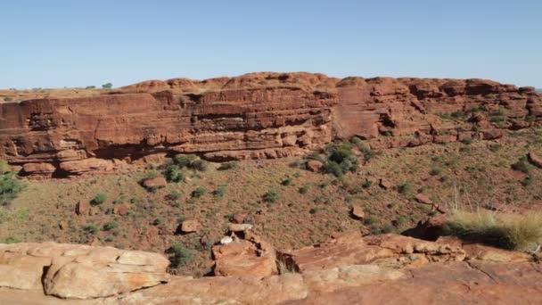 divočina, divoká a mimo území národního parku Watarrka v Austrálii