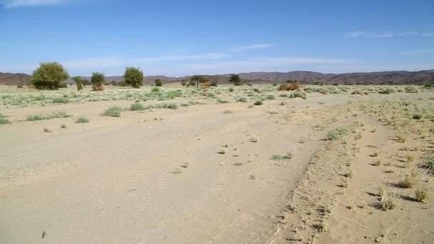 uprostřed pouště v Súdánu, Afrika