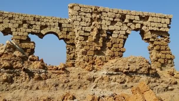 footage of antique ottoman heritage near city of port Sudan, Africa