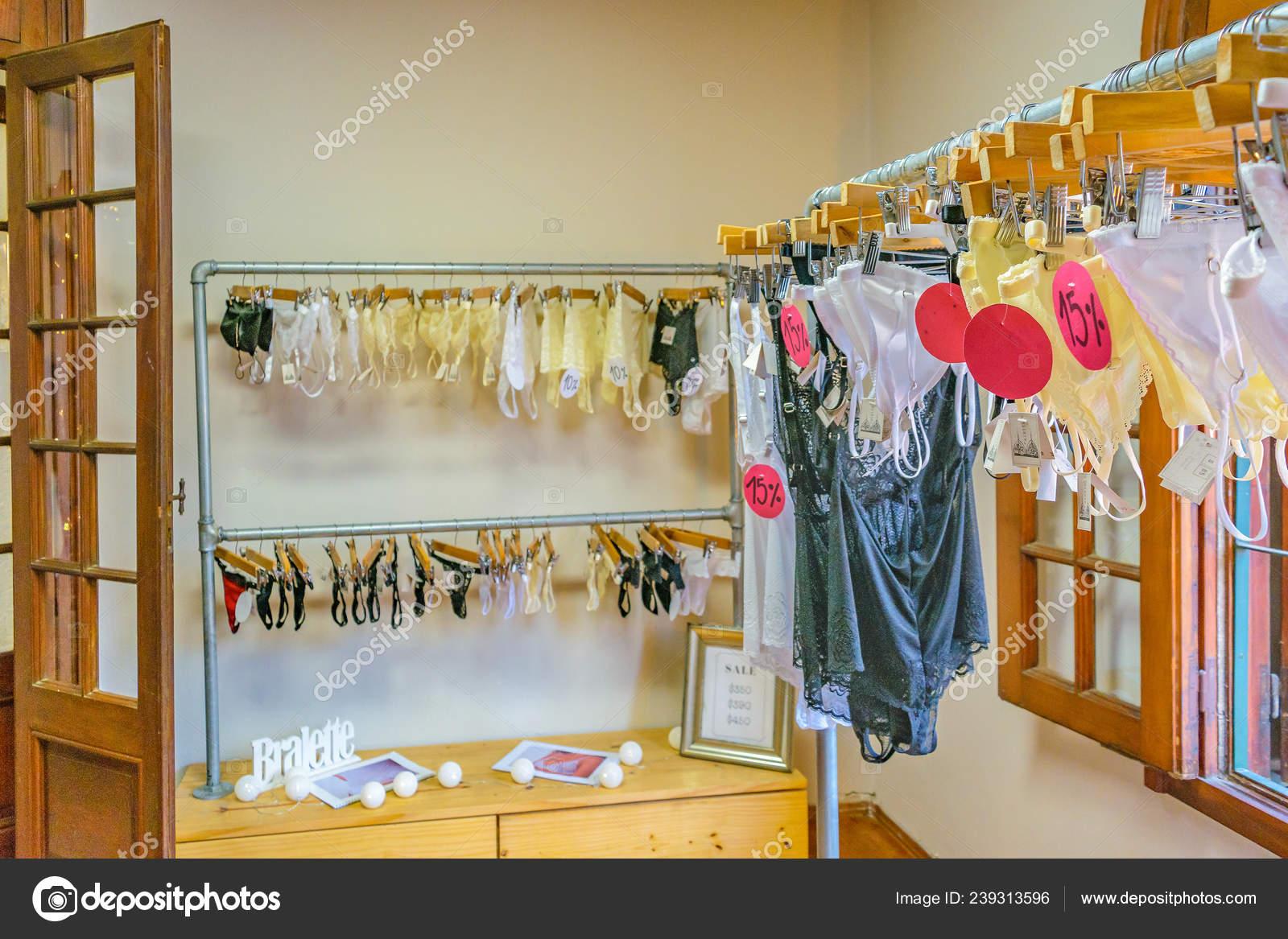 Empty Interior View Small Clothing Store Boutique Montevideo City Uruguay Stock Photo C Danflcreativo 239313596