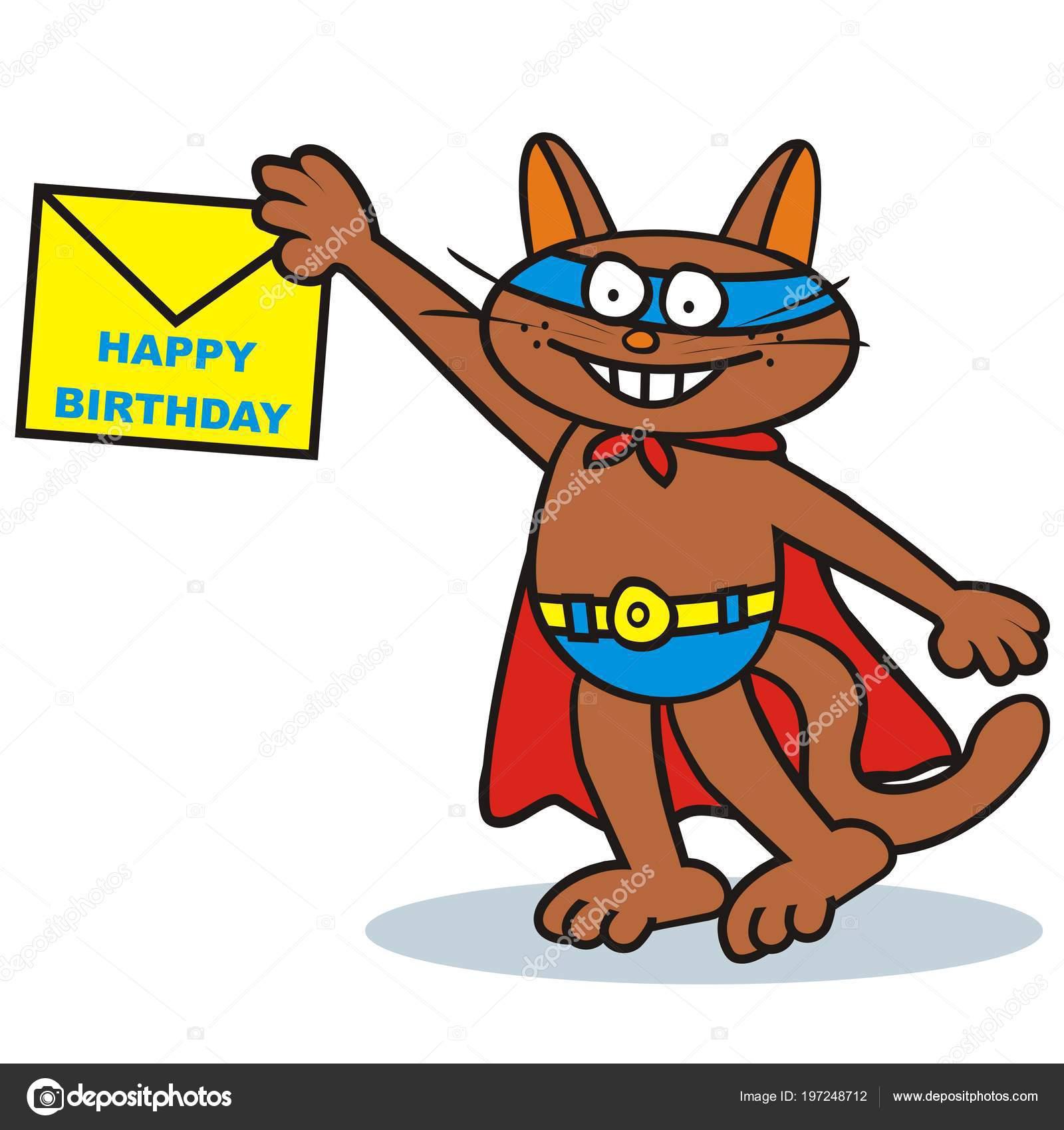 Tomcat letter felicitation funny vector illustration stock vector tomcat letter felicitation funny vector illustration stock vector altavistaventures Images