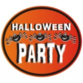 Fényképek Halloween party, vector icon, label