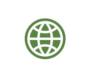 Wire World Logo Template vector icon illustration