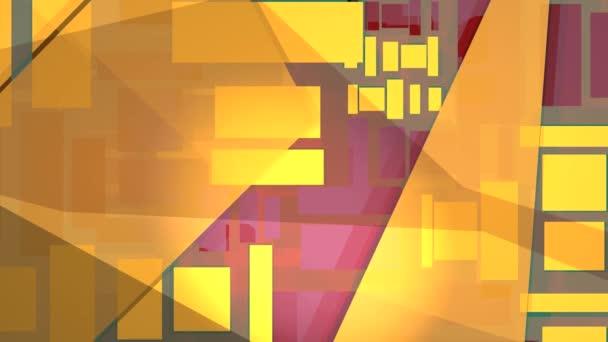 Módní pozadí žluté, oranžové, modré a fialové tvarů
