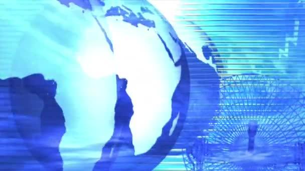 globální mapa světa glóbus země