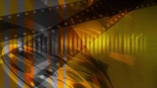 Video der Filmstreifen-Unterhaltung