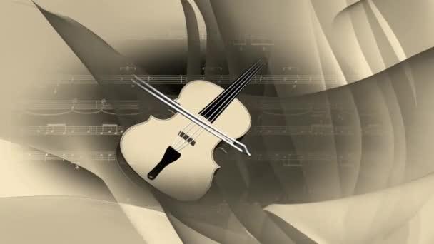 hudba hudební housle strunný