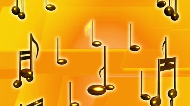 music yellow notes musical audio