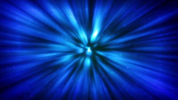paprsek světla červích děr modrý abstrakt