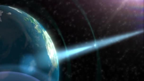 satelitní prostoru orbity země světa