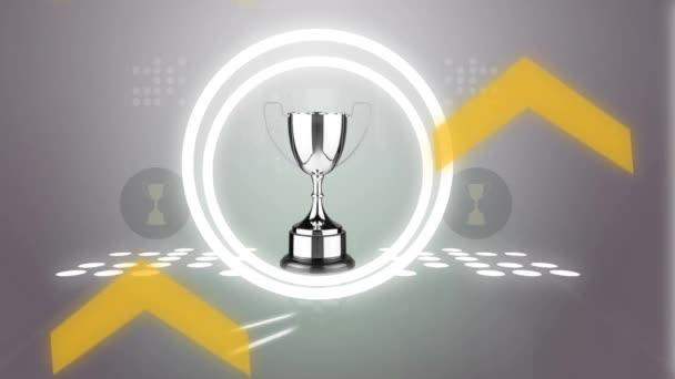 trófea díjat nyer a győztes sport