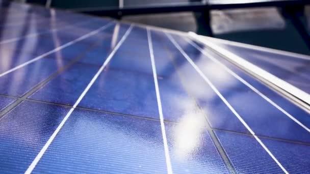 solární panel zblízka