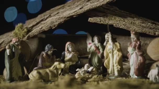 Vánoční betlém set se světly