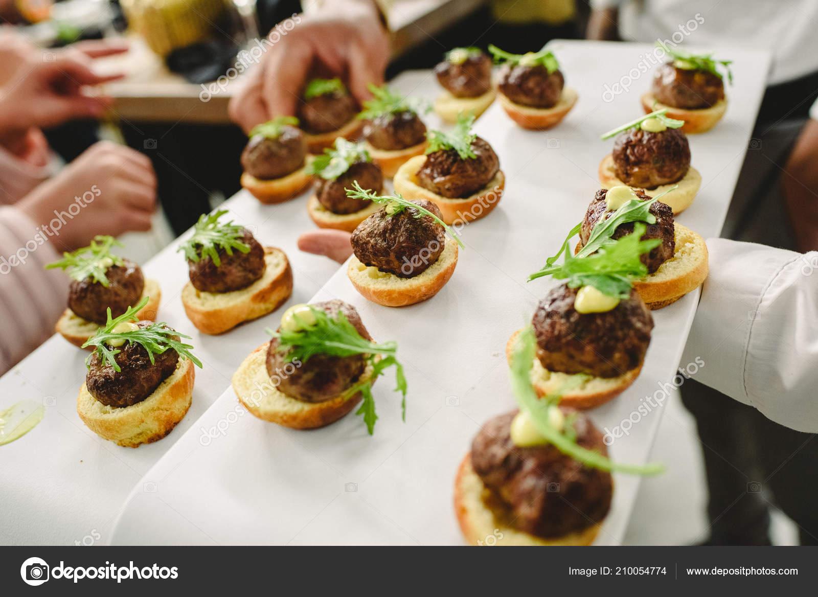Wedding Food Ideas Appetizers Stock Photo Image By C Joaquincorbalan 210054774