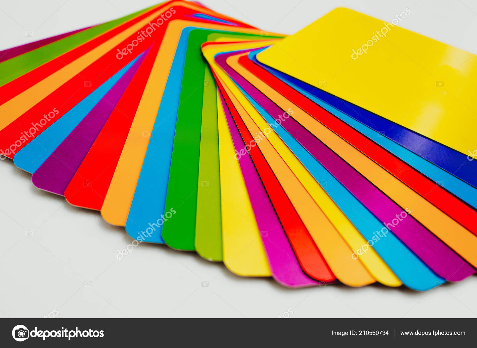 Complete Guide Color Chart Carts Stock Photo Joaquincorbalan