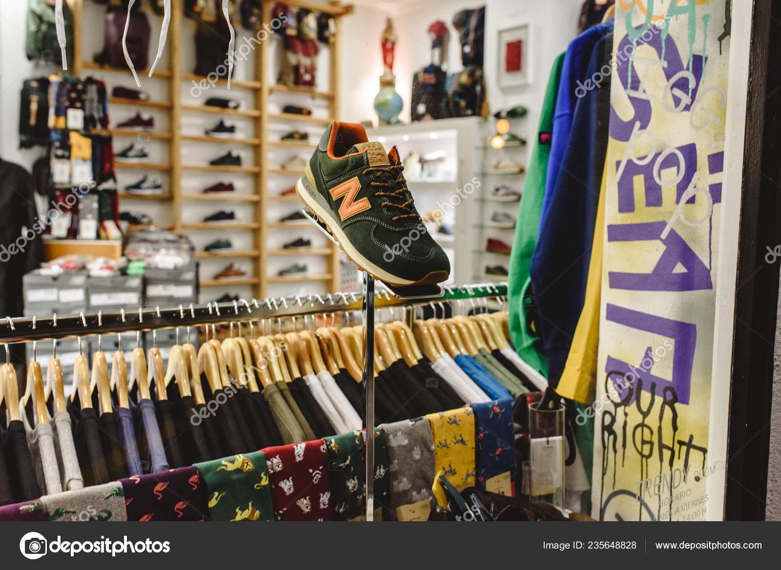 basket new balance magasin