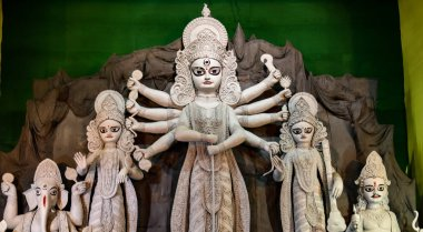 One of the highest maa durga idol in West Bengal