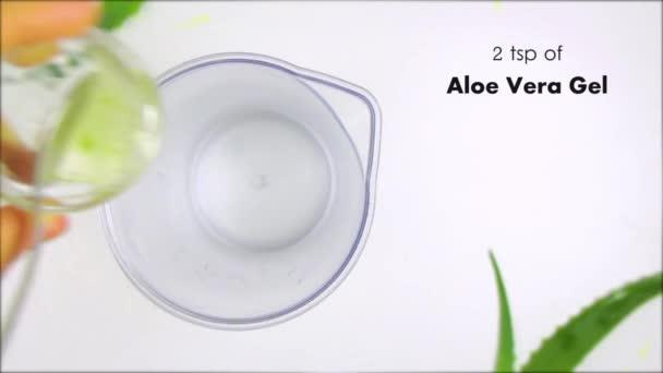Aloe Vera šťáva recept