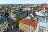 Luftaufnahme der Marienplatz, München Stadt aus New City Hall, Bayern, Deutschland