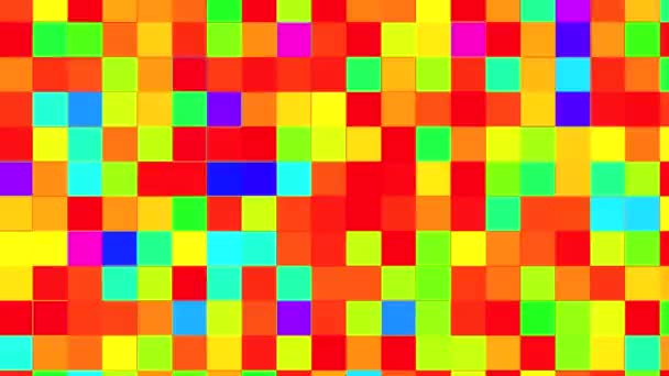 Colored mosaic looping background